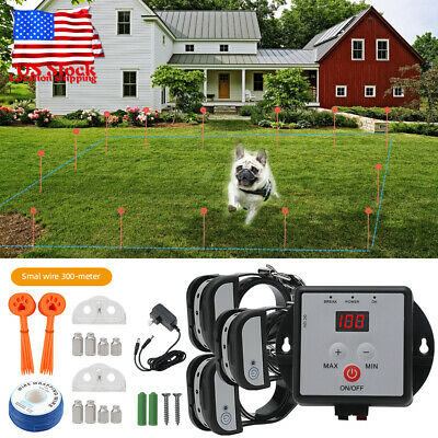 X800 Electronic In-Ground Pet Fence Dog Training Collar Fence Containment System
