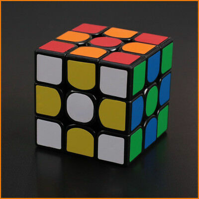 Yuxin Zhisheng Unicore Kylin 3x3 Magic Puzzle Speed Cube Black