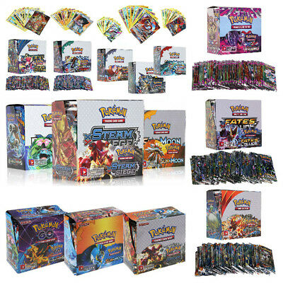 324Pcs POKEMON TCG Sun&Moon ULTRA PRISM EVOLUTIONS BOOSTER SEALED BOX - ENGLISH