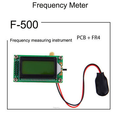 High Accuracy 1 to 500 MHz Frequency Measurement Meter Digital LED For Ham Radio