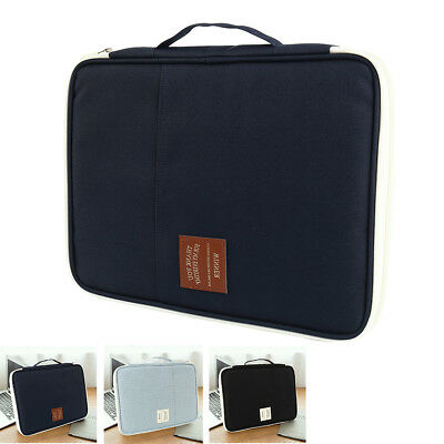 A4-Paper Expanding File Folder Pockets Document Organizer Envelope Holder Bags