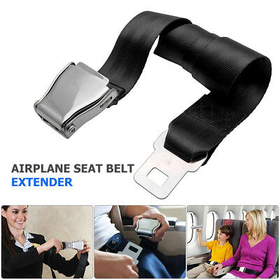 Commercial Plane Airplane Aeroplane Airline Seat Belt Adapter Extension Extender