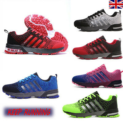 2018 Autumn Air Cushion Men's Sports Casual Shoes Running Trainer Plus Size UK