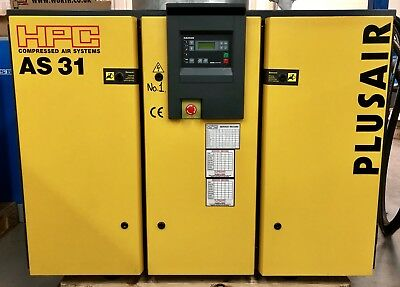 HPC / Kaeser AS 31 Rotary Screw Compressor! 100Cfm! 18.5Kw! Immaculate! Low Hrs!