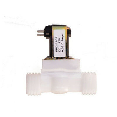 1/2Inch Electric Solenoid Valve Magnetic DC N/C Water Air Inlet Flow Switch HOT