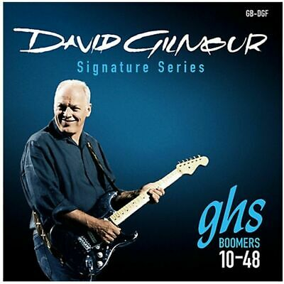 GHS Boomers David Gilmour Blue Signature Electric Guitar Strings 10 - 48