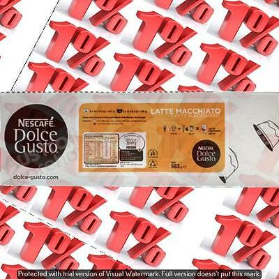 1x Nescafe Dolce Gusto Pods Cappuccino/Latte - 24 Servings