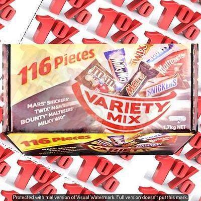 1x Mars Variety Mix Box - 116 Pieces * 1.7 KG