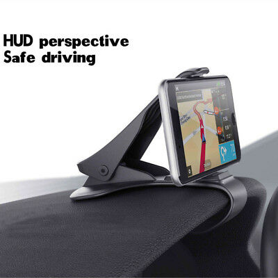 Mobile Cell Phone GPS Car HUD Dashboard Mount Holder Stand Bracket For Universal