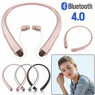 2017 Retract Stereo Sport Wireless Universal Bluetooth Headphones Headset Earbud