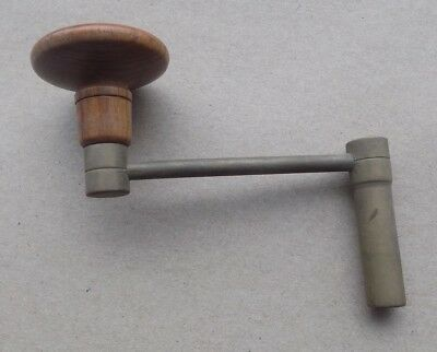 Vintage Brass Longcase Clock Key Winder - 5¼ mm