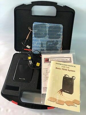Tens Muscle Electro Stimulator System Pain Relief Rehabilitation Therapy Health