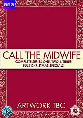 Call The Midwife Complete Series 1 2 3 DVD 10 disc Box Set New UK R2 Original