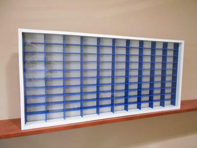 Display case cabinet for 1/64 diecast scale cars (hot wheels, matchbox)-100NWB-1