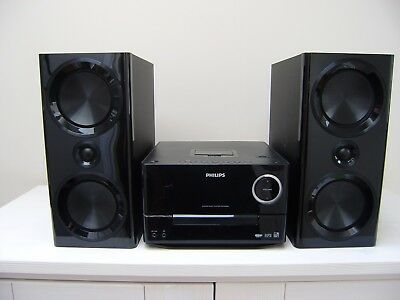 120 Watt Micro Music System  Philips DCM3020 New Boxed