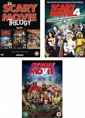 Scary Movie 1 5 Complete Dvd Collection Part 1 2 3 4 5 All Film Original Uk Rele 30 50 Picclick Uk
