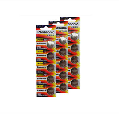 15pcs original brand new battery for PANASONIC cr2032 3v button cell coin batt.