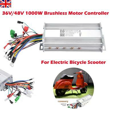 36V/48V 1000W Brushless Speed Controller Scooter E-bike Bicycle Electric Motor