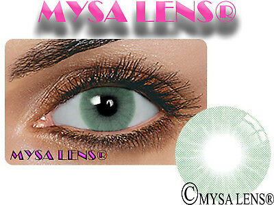 Natural Looking Contact Lenses Colored HIDROCOR Verde 1 Year (Pair) MYSALENS