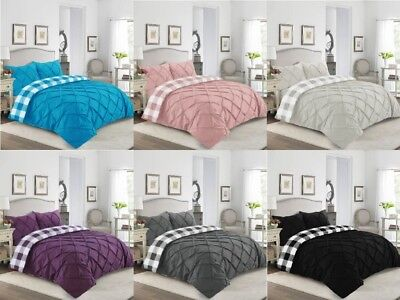 Duvet Cover Quilt Covers Luxury Percale Bedding Set Double King Super King Size