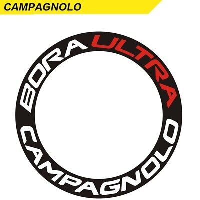 Two Wheel Sticker  Set for CAMPAGNOLO CP Bora ULTRA Road Bike Cycling Decals