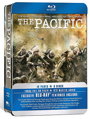 PACIFIC COMPLETE SERIES TIN EDITION Steel Box blu ray UK Rel NEW steelbook book