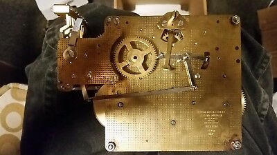 HOWARD MILLER/HERMLE 1051-030A/38cm 8 DAY TRIPLE CHIME  MOVEMENT #1