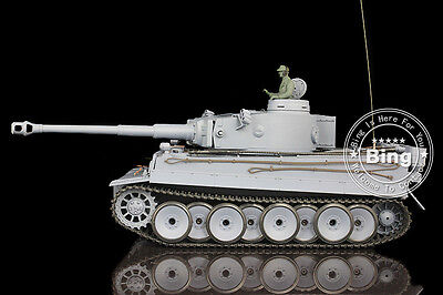 AU Stock Free Shipping HengLong 1/16 2.4G Radio Control Germany Tiger I RC Tank