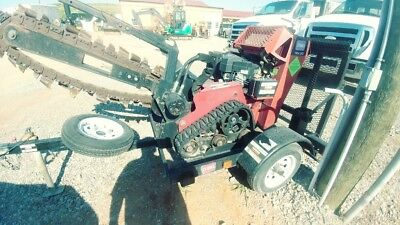 2014 Toro TRX-20 Walk Behind Trencher Trailer Track Skid Steer Trencher Used