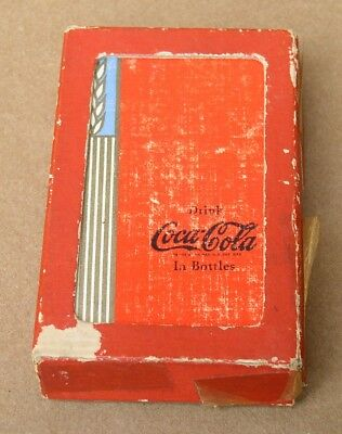 Original Vintage 1939 Deck Of Coca Cola Playing Cards, Complete 52 Cards +