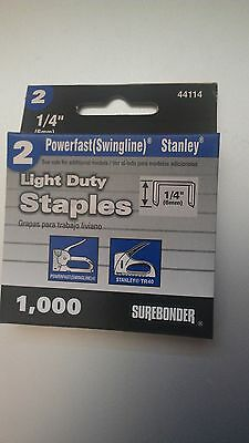 "1/4"" Swingline 101 Vintage Staplegun Staples"