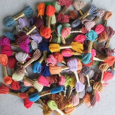 50 x *NEW* Anchor Tapestry Wool 10m Skeins Mixed Colours Job Lot
