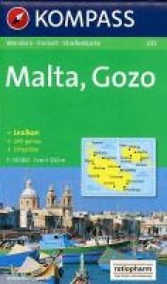 Aqua3 Kompass 235: Malta by Chartech (Sheet map, folded, 2002)