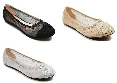 ccf19bcdba493a WALSTAR SHOES RHINESTONE women flat shoes Round Toe Fashion Womens ...