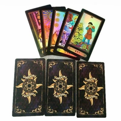 Amazing Tarot Cards Deck Vintage Colorful Box Playing Game Unique 78 Cards NEW