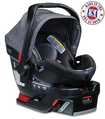 Britax B-Safe 35 Elite Infant Car Seat with Base Baby Toddler Safety Chair Vibe