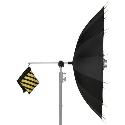 5' (150cm) Parabolic Umbrella with On-Center Bowens Monolight Mount