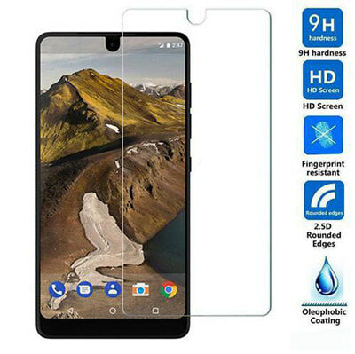 (2 Packs) HD Tempered Glass Screen Protector for Essential Phone PH-1