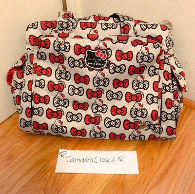 004f890625b3 JU-JU-BE HELLO KITTY Collection Be Prepared Diaper Bag
