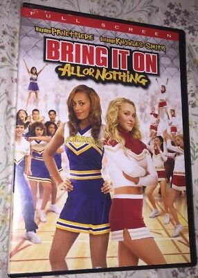 Bring It On: All or Nothing (DVD, 2006, Full Frame)