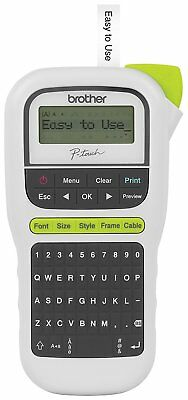 NEW Brother P-touch Portable PT-H110 Label Maker Making Price Tag Code Office