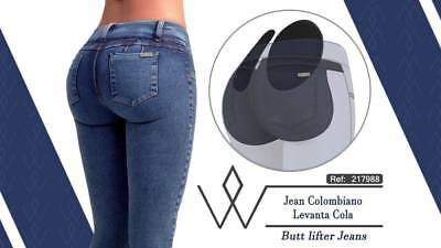 coupon code outlet sale new & pre-owned designer COLOMBIAN PADDED JEANS for Skinny Legs with Butt Pads ...