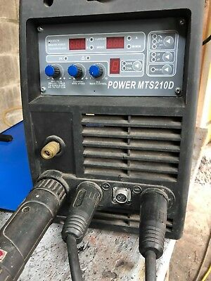 DC 3 in 1 welding machine POWER MTS 210 D with accessories