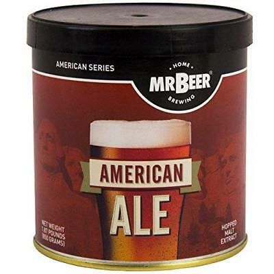 Mr. Beer American Ale 2 Gallon Homebrewing Craft Beer Making Refill Kit with