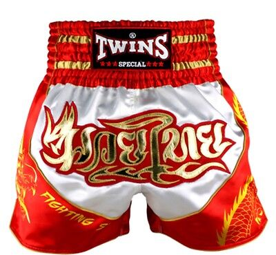 Twins Special Tbs - 5 Dragon Muay Thai/Boxing Shorts Size S