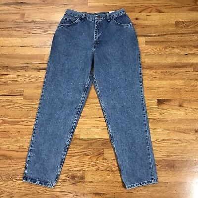 VTG Gitano Jeans High Waist Mom Relaxed Fit Taper Leg Size 14 80s 90s NWT