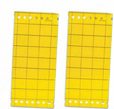 Large Yellow Sticky Insect Traps Catch All Flying Greenhouse Pests