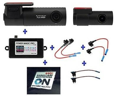 BlackVue DR590W-2CH, Wi-Fi Car Black Box, FULL HD 1080p Front and Rear, 30FPS