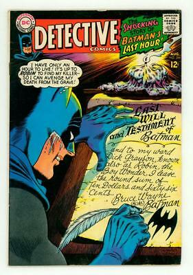 Detective Comics #366 Fn/vf 7.0 Batman 1967