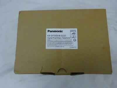 Panasonic DT300 Series KX-DT333-B 24 Button Digital Telephone with Full Duplex S